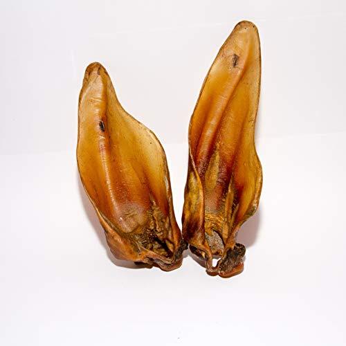 Rinderohren mit Muschel in XXL - 50Stk. - von Warnick´s Tierfutterservice