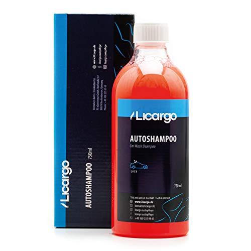 LICARGO® Premium Autoshampoo Konzentrat (750ml) - pH neutral - entfernt hartnäckigen Schmutz gründlich - kein Angreifen von Versiegelungen - Autowaschmittel, Car Shampoo, Auto Shampoo