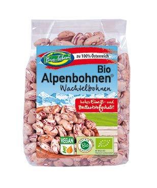 Bio Wachtelbohnen 100% aus Österreich 1,75kg Öko Cranberry Bohnen Typ Borlotti extra Qualität 7x250g