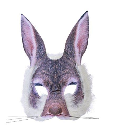 Forum Novelties X78554 - Máscara de conejo unisex, multicolor, talla única