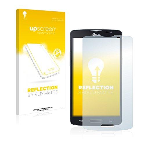upscreen Entspiegelungs-Schutzfolie kompatibel mit LG L80 D373 (One SIM) – Anti-Reflex Bildschirmschutz-Folie Matt