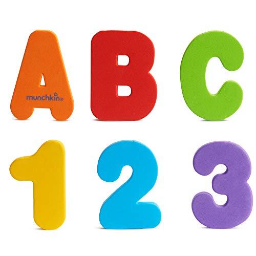 Munchkin - Learn letters en cijfers (A-Z, 0-9) badspeelgoed