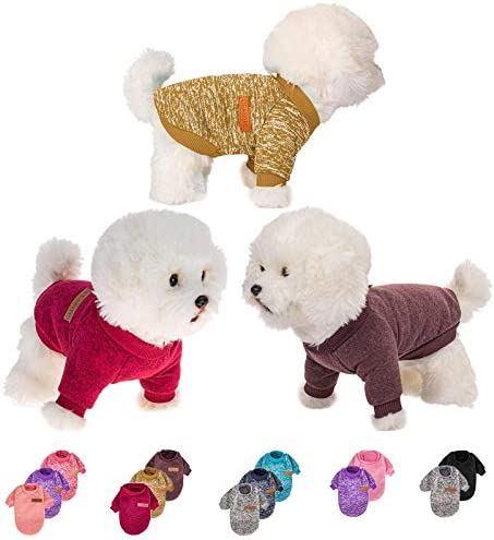 Dog Sweater for Small Medium Large Dog or Cat Warm Soft Pet Clothes for Puppy Small Dogs Girl product image