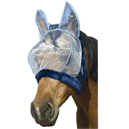 Intrepid International Charlie Bug-Off Shield Fly Mask with Ears, Cob/Pony