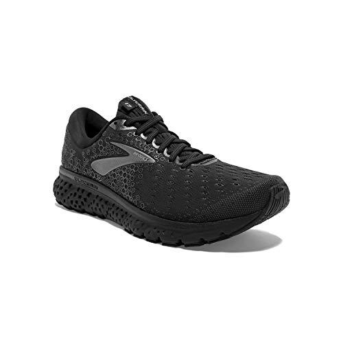 Brooks Mens Glycerin 17 Running Shoe - Black/Ebony - D - 7.0
