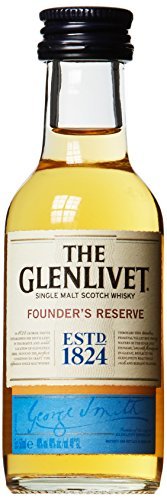 The Glenlivet Founder'S Reserve Single Malt Scotch Whisky 40% Vol. 0.05L In Giftbox - 50 ml