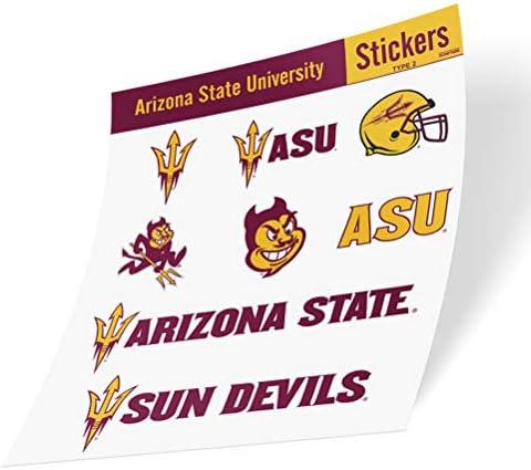 Arizona State University ASU Sun Devils NCAA Sticker Vinyl Decal Laptop Water Bottle Car Scrapbook product image