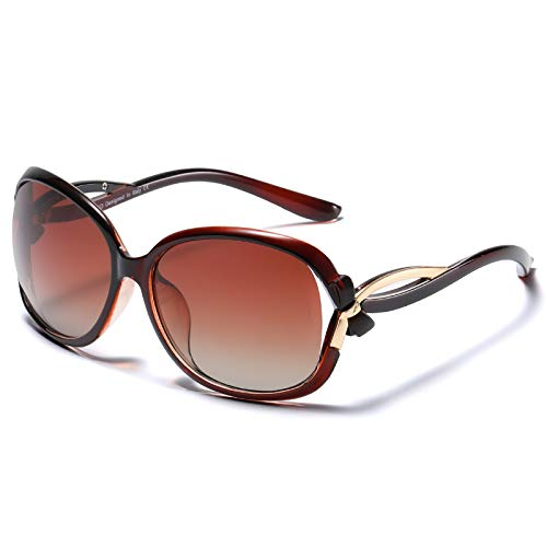Duco gafas de sol con estilo de las gafas de sol polarizadas 100% protección UV 2229