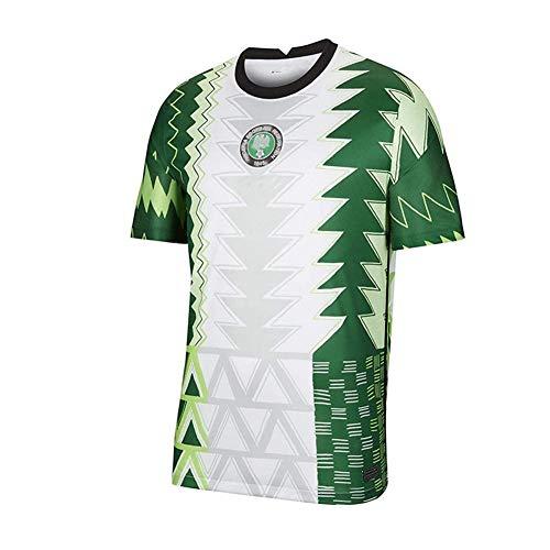 CUYE Jersey de fútbol para Hombre Jersey de fútbol/Jersey Retro de Fútbol, Nigeria Home Jersey, Camiseta para Hombre y Camiseta para Hombre de Hombre,A,L