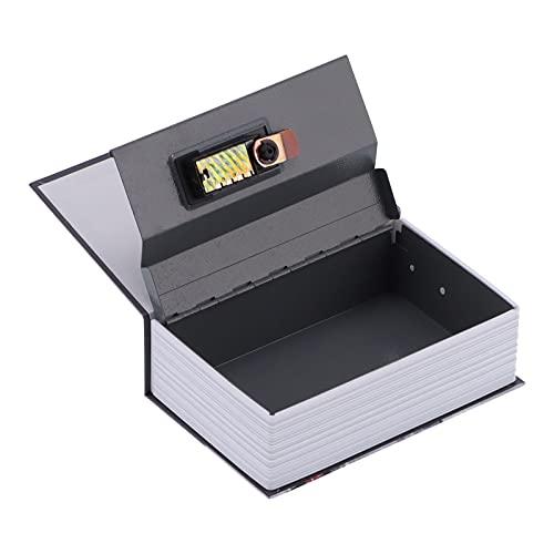 Mini Caja de Seguridad, Caja de Seguridad con Forma de Libro de imitación, Apariencia única y Duradera para la Escuela del Dormitorio de la Oficina en el hogar