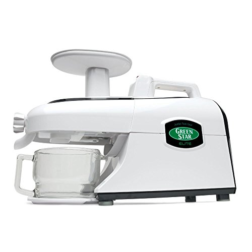 Tribest Green Star Elite GSE-5300 Deluxe Jumbo Twin Gear Juice Extractor with...