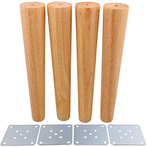 Patas para muebles de madera, patas para armarios, patas de sofá, mesas auxiliares, sillas de media