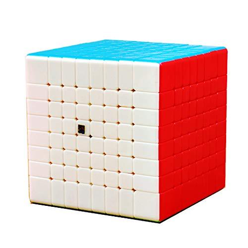 BestCube 8x8 Cube Stickerless Classroom MF8 Meilong 8x8x8 Speed Cube Puzzle Gifts Toys(70mm)