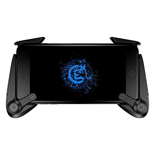 Hhjkl Contrôleur de Jeu De Plus capacitance Gamepad Game Entertainment for iOS Android Non Téléphone Mobile écran Tactile intégral for PUBG Téléphone Intelligent (Color : Black, Size : One Size)