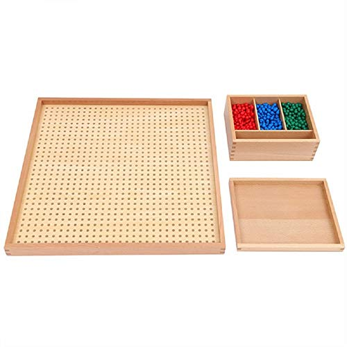 Buy Zhenyu Education Kids Toy for Children Wood Peg Board Set Math Toy Training Game