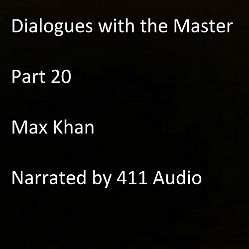 Dialogues with the Master, Part 20 audiobook cover art