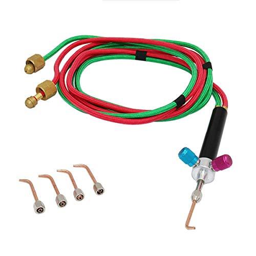 UKCOCO Micro Gas- Mini Gas Pequeño Kit de Soldadura de Gas Pequeño Corte de Gas Soldador Conjunto de Herramientas para Soldar