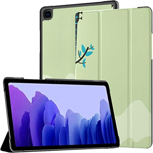 Case For Samsung Galaxy Tab A7 10.4 Inch Tablet 2020(sm-t500/t505/t507), Acoustic Guitar Dove Peace Cartoon Multiple Angle Stand Cover With Auto Wake/sleep