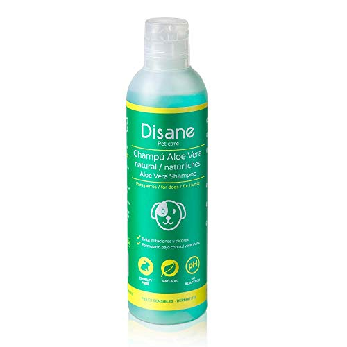 Disane Champú Para Perros Natural con Aloe Vera | 250ml | Pieles...