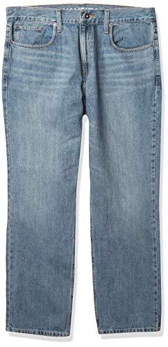 Nautica Herren Straight Fit Jeans - Blau - 35W / 32L