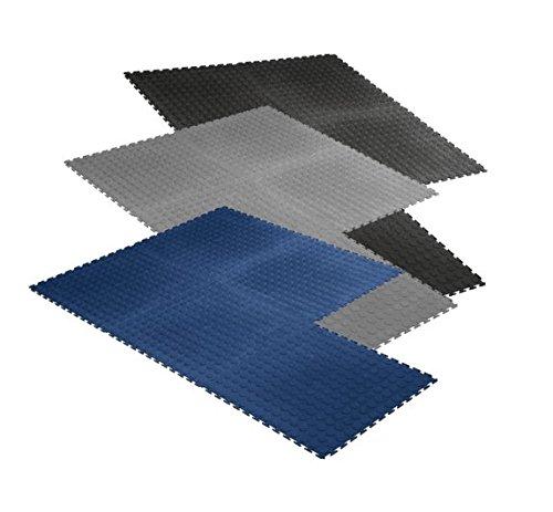 S.B.J - Sportland Matte Studioline Quarto, 50 x 50 cm, ca. 0,5 cm dick, Puzzlematten/Steckmatten/Bodenmatten/Sportmatten/Spielteppich/Unterlegmatten