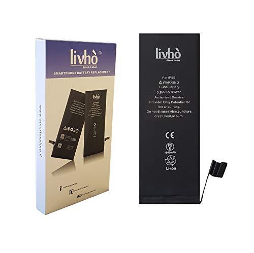 livhò® Black Label Baterìa Compatible con iPhone 5S/5C