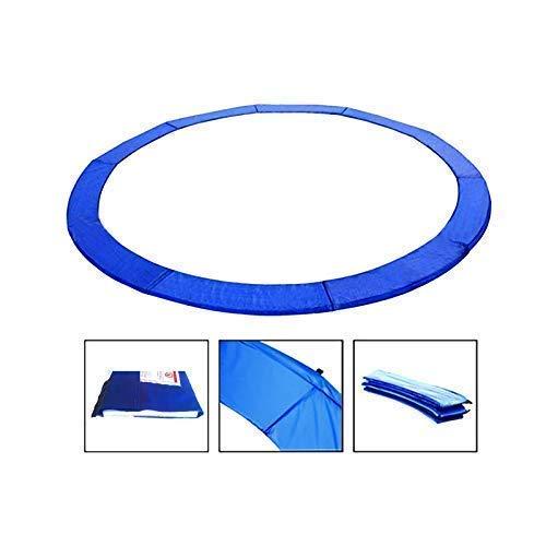 Andreas Dell Randabdeckung Federabdeckung Randschutz Schutz für Trampolin von 244 bis 460 cm (Blau, 244)