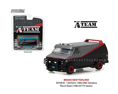 The A Team - 1983 GMC Vandura Van - Greenlight Hollywood 1:64