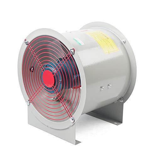 Ventilador axial industrial, extractor tubo, 220 V, 180 W, 1450 rpm, 300 mm, para fábricas y almacenes