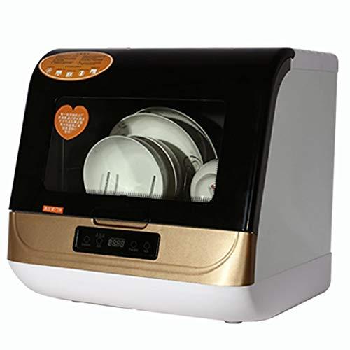 1200 W Desktop-GeschirrspüLer, Mikrocomputer-Steuerung, 3 Waschmodi, 360 ° -Hochdruckreinigung, 5 SäTze Geschirr KöNnen Gewaschen Werden,Black