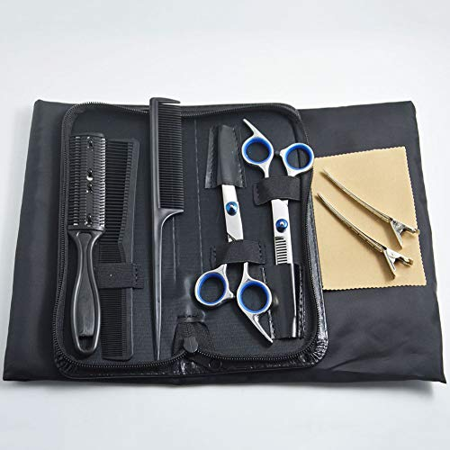 RXT Juego de 9 Tijeras de Corte de Pelo y peluquería, Juego