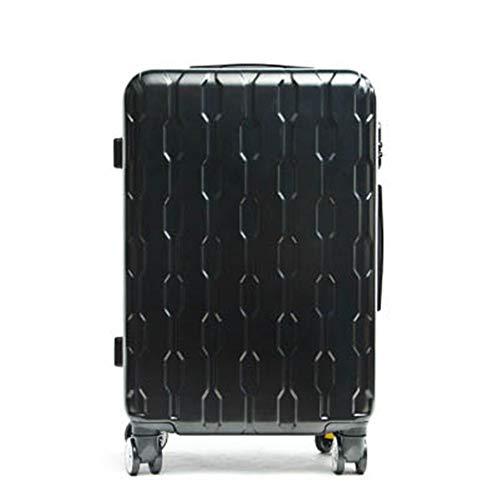 NgMik Telescopic suitcase Women's Trolley Luggage Suitcase 20 Inch / 24 Inch Trolley Luggage Travel Boarding Case Lightweight suitcase (Color : C4, Size : 20inch)