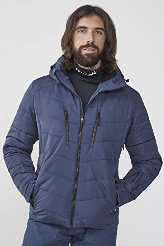 Tenson M Powder AIRPUSH Jacket Donkergrijs L