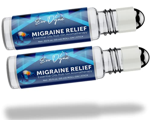 2-Pack Migraine Relief Stick, (0.3 OZ / 10 ML...