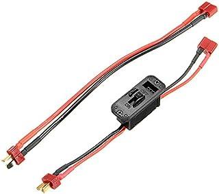 KINGDUO T Axial sur Off Commutateur Connecteur Extension Câble Batterie Lipo Rc