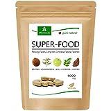 MoriVeda® Superfood Compresse 1000mg | Miscela Moringa + Ashwagandha + Triphala | Fornitore di nutrienti fino a 2 mesi | 120 compresse