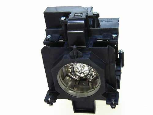 Alpha Aurum Ersatzlampe POA-LMP136 / 610-346-9607 / 003-120507-01 / 6103469607 mit Gehäuse für Sanyo PLC-XM150 / PLC-XM150L / PLC-XM150L(W) / PLC-WM5500 / PLC-WM5500L / PLC-ZM5000 / PLC-ZM5000L / EIKI LC-XL200 / LC-WUL100 / Christie LW555 / LWU505 / LX605 Ersatzlampenmodul / AC 330W / Lampenmodul