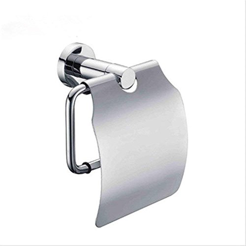 HYY-YY latón Cromado toallero baño higiénico Titular de Papel Resistente al Agua baño Carrete (Color: -, Tamaño: -)