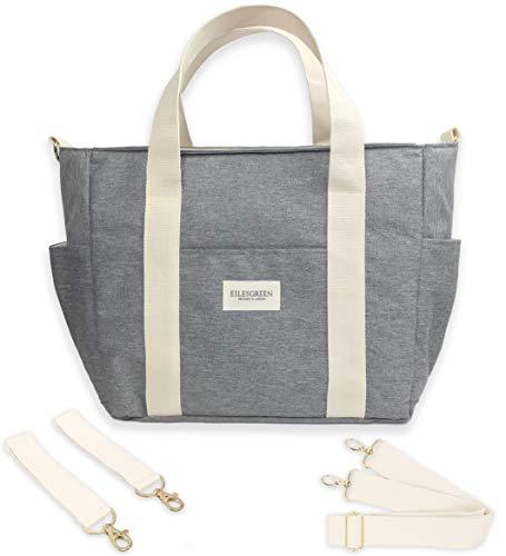 ESLESGREEN Maternal Wickeltasche für Kinderwagen, Melange