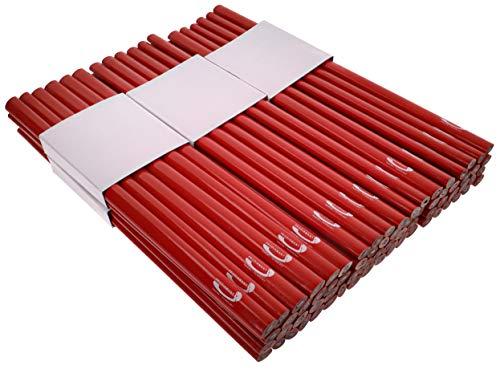 PRODIAMANT Zimmermannsbleistift oval, 250mm lang - Der perfekte Bleistift für Industrie und Handwerk (72 Stück)