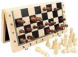 Ajedrez para tablero harry potter viaje Conjunto de ajedrez de madera, para adultos, piezas hechas a mano y tablero de ajedrez de madera sólido natural, tablero de juego plegable original LPRE
