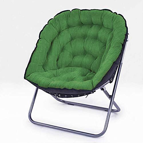Bluebd Opvouwbare stoel, loungestoel, klapstoel, relaxstoel groen