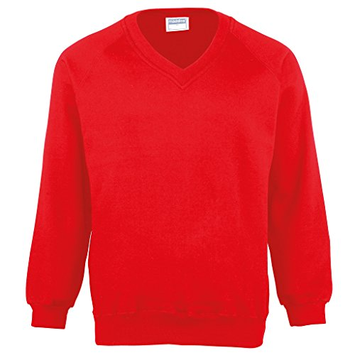 MAKZ - Sweat-Shirt - Manches Longues - Homme - Rouge - XXX-Large