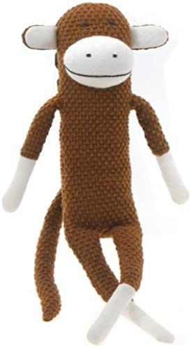 Paul Frank 17  Julius Knitted Monkey (Crochet braun) by Fiesta Toy (English Manual)