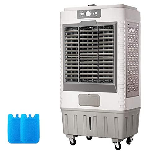aire acondicionado apartamento, Aire acondicionado portátil 3-IN-1, enfriador de evaporación móvil, humidificador de aire bajo con 3 velocidades para la oficina en casa C.A. Gris 8000 Volumen de aire