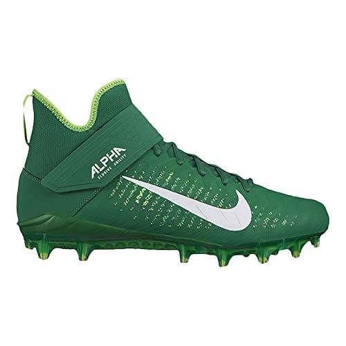 Nike Alpha Menace Pro 2 Mid Herren Aq3209-300, Grn (grün/weiß), 48 EU