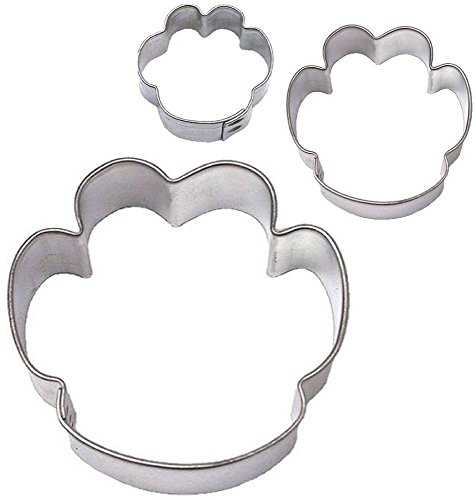 Paw Print Cookie Cutter Set