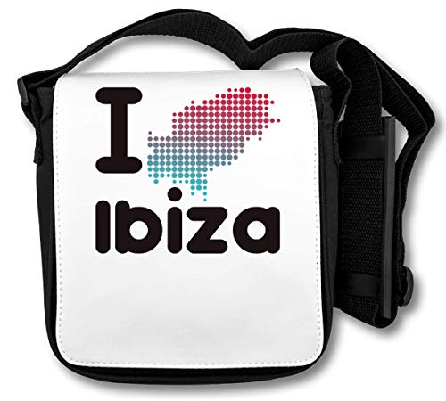 I Ibiza Map Schoudertas