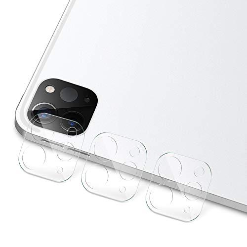 IVSO Kamera Schutzfolie Panzerglas für iPad Pro 11 2020 / iPad Pro 12.9 2020, 9H Härte, 2.5D, Displayfolie Schutzglas Kamera Schutzfolie Panzerglas Für iPad Pro 11 2020 / iPad Pro 12.9 2020, (3 x)