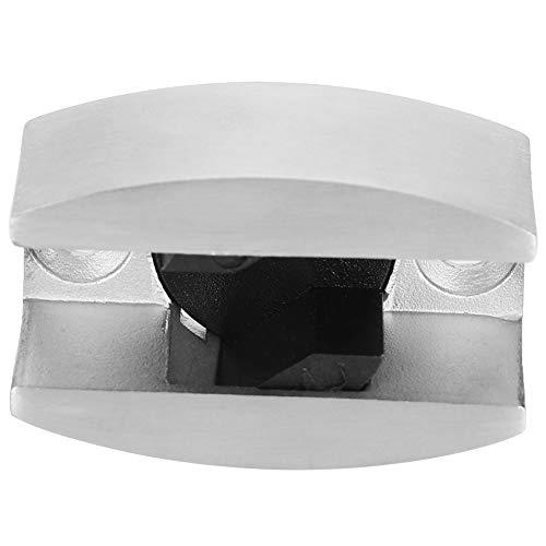 Guía del piso de la puerta corredera de vidrio, acero inoxidable hecho 8-14mm / 0.3-0.6En Guía de rodillo de la puerta de cristal de lijado para puertas correderas de vidrio